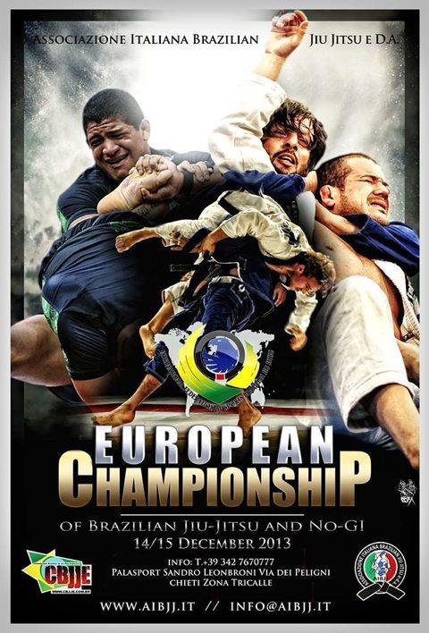 Campionato Europeo CBJJE (Chieti)