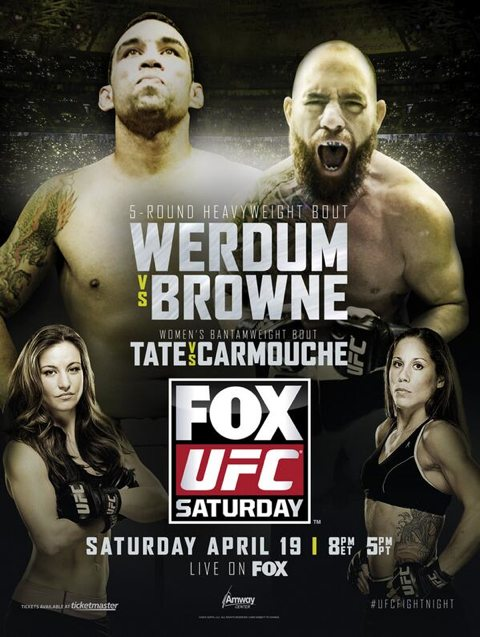 UFC on Fox 11- Fabricio Werdum vs Travis Browne
