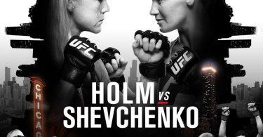 UFC on Fox- Holm vs. Shevchenko